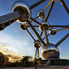 Atomium at Sunset<br /> Atomium at Sunset