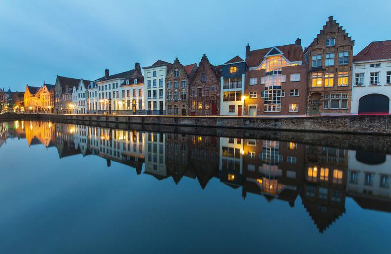 Reflection in Bruges