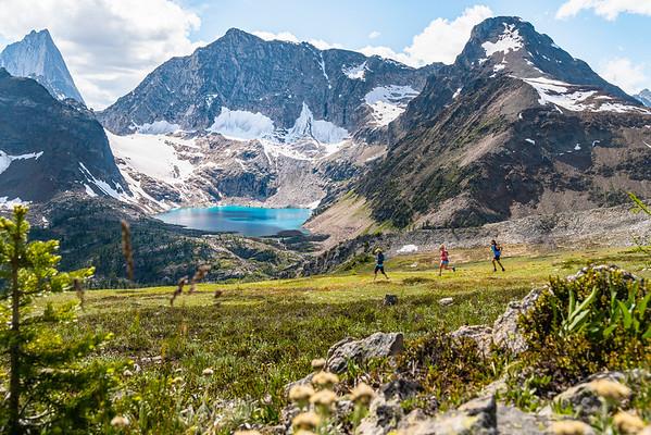 Mountain Running In The Bugaboos, British Columbia 2019
