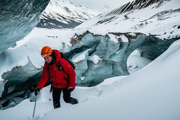 Exploring Ice Caves in Jasper Alberta for Getting The Shot 2020