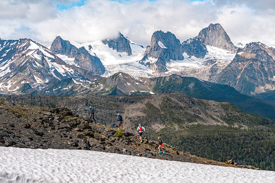 Trail Running In The Purcell Mountains of British Columbia for CMH Heli 2019