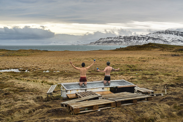 Celebrating The View In Eastern Region, Iceland 2015