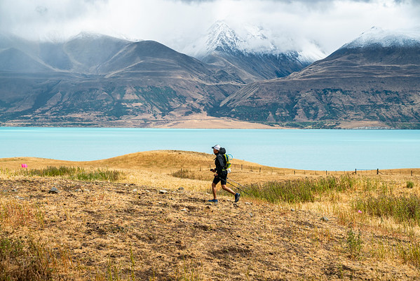 Ultra Running In The Mount Cook Region of New Zealand 2019 on A2O Ultra Shoot