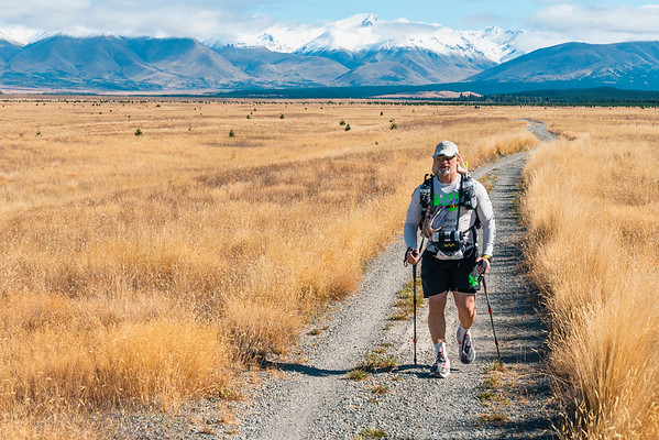 Ultra Running Mount Cook Region, New Zealand 2019