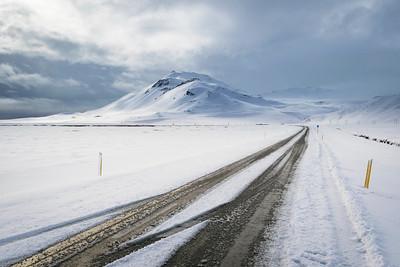Western Iceland Region in Winter 2015