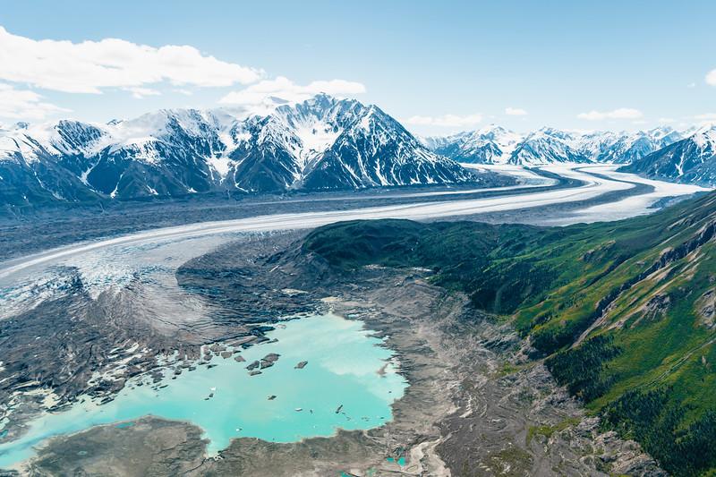 Queen Marry Glacier in Kluane NP, Yukon 2018