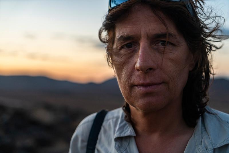 Paolo In Namib Desert