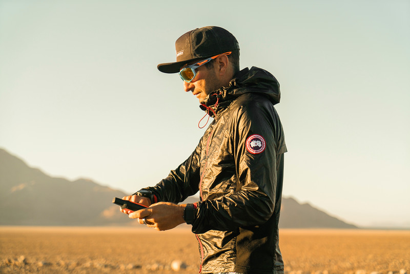 Ray In Namib Desert During Trans Namibia Expedition