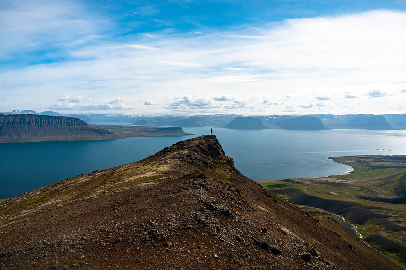 Hiking the West Fjords, Iceland 2016