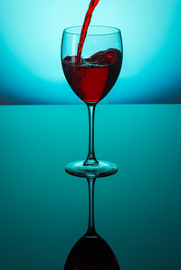 wine glass-print
