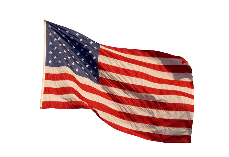 old american flag wallpaper. A silhouette American flag on