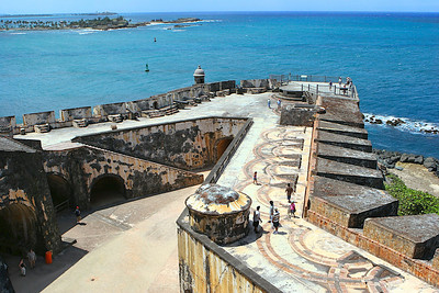 El Moro, San Juan PR. I lived in San Juan for two years and El Moro is one of my most favorite places. This photo was taken on a return vacation visit in 2007.