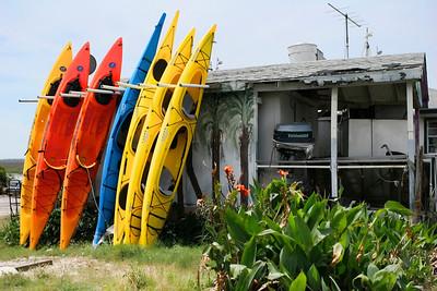 Kayaks @ Tybee Island GA