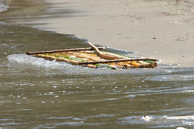 Bamboo Raft - St. Mary, Jamaica