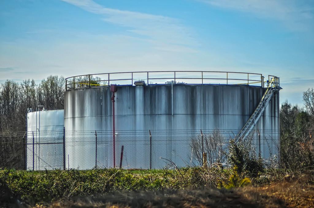 petroleum oil storage tanks