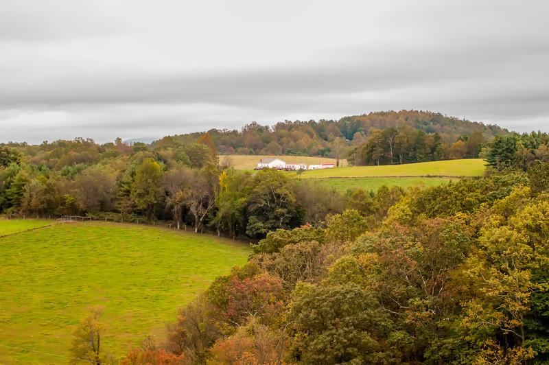 mountain farm land in virginia mountains