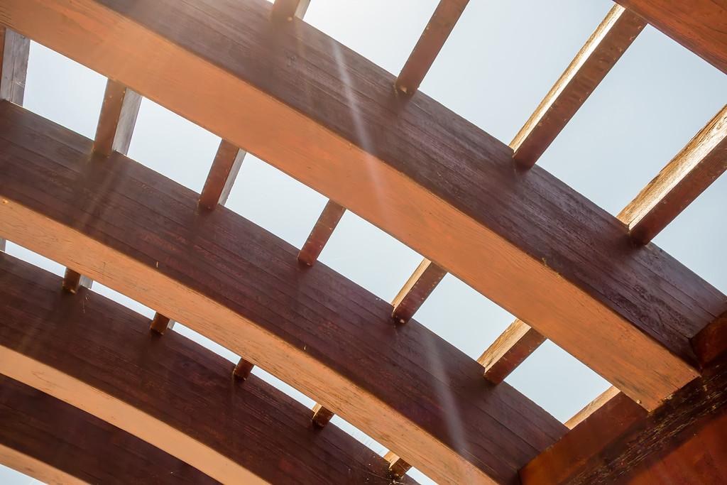 trellis design canopy details