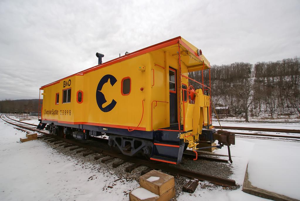 antique train wagon