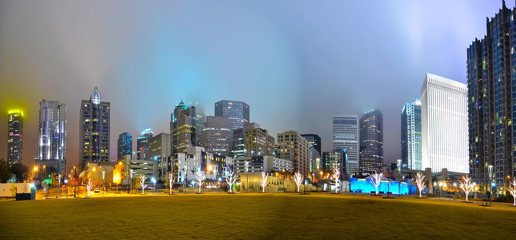 charlotte city skyline
