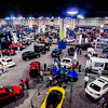 cars on display at an autoshow