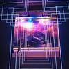 illuminated cross walk through