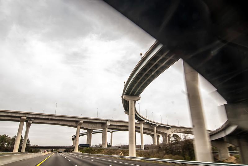 interstate highway bridges