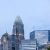 charlotte north carolina city skyline in downtown