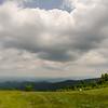 scenics along blue ridge parkway in west virginia