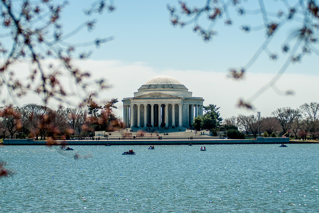 Thomas Jefferson Memorial, in Washington, DC, USA
