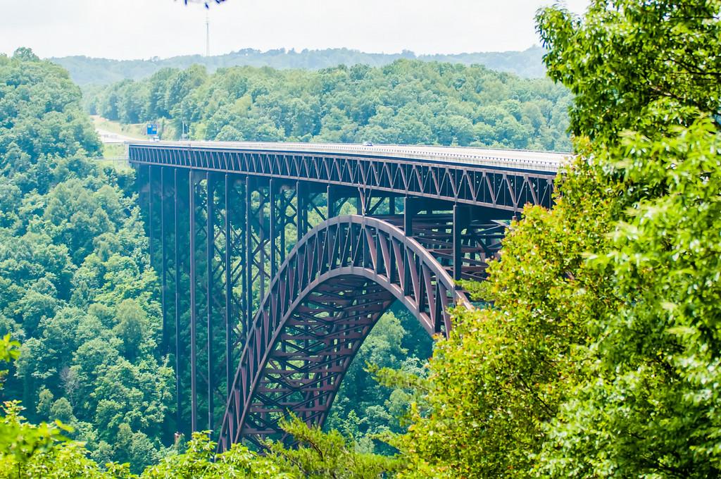 West Virginia's New River Gorge bridge carrying US 19