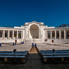 View  of the Memorial Amphitheater at arlington cemetery