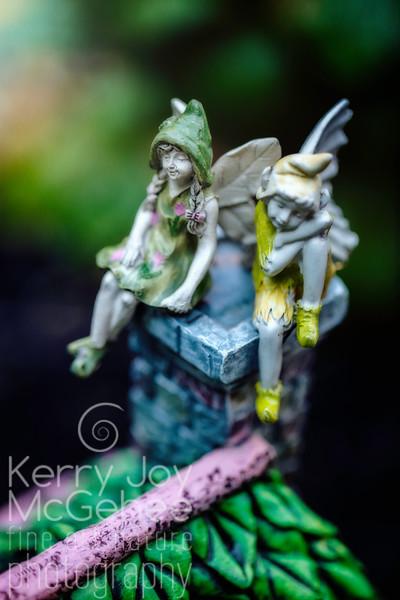 Fairies on a Chimney