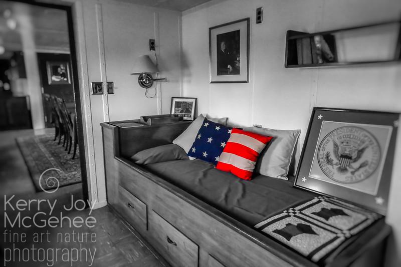 FDR's Bedroom, USS Potomac