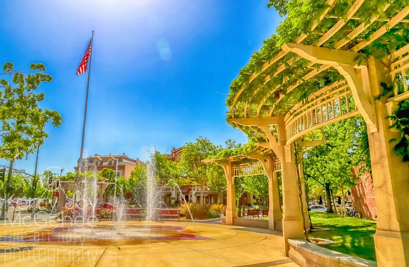 Patriotic Livermore Fountain