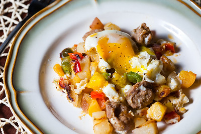 Sausage and Egg Hash