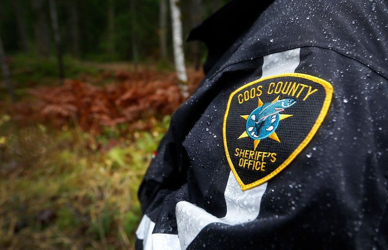 Members of law enforcement carry out a Coos County Sheriff's Office operation to gather intelligence on a known illegal marijuana grow on U.S. Forest Service land in southern Coos County on Wednesday, Nov. 15, 2017.