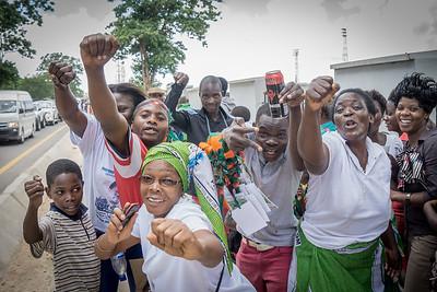 Lungu Supporters