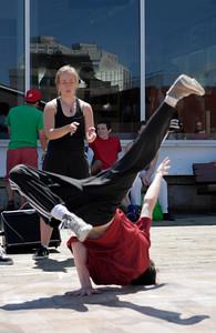 Bboy-dancer buskers @ Halifax Waterfront _1120361