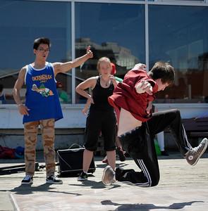 Bboy-dancer buskers @ Halifax Waterfront _1120359