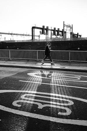 Cardiff Street Portrait