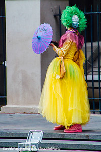 Street Performer, New Orleans, Louisiana