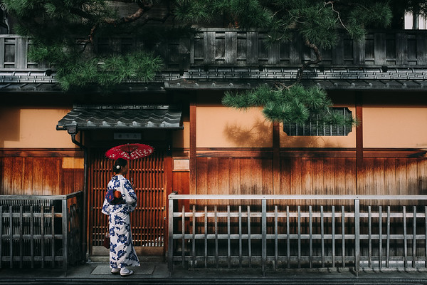 Strolling in Gion