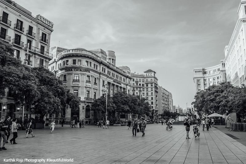 Placa Nova, Barcelona, Spain