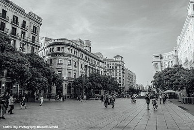 Placa Nova, Barcelona, Spain