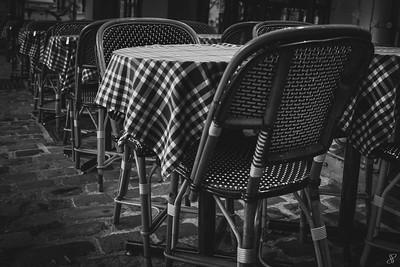 Tables en Terrase