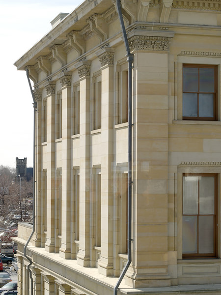 Detail of the Federal Building in Port Huron, MI