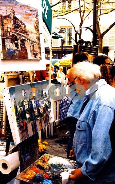 The Paris Painter