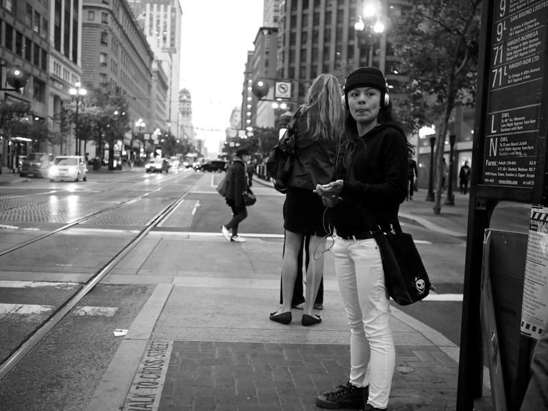 Private Music, Market Street - San Francisco, California