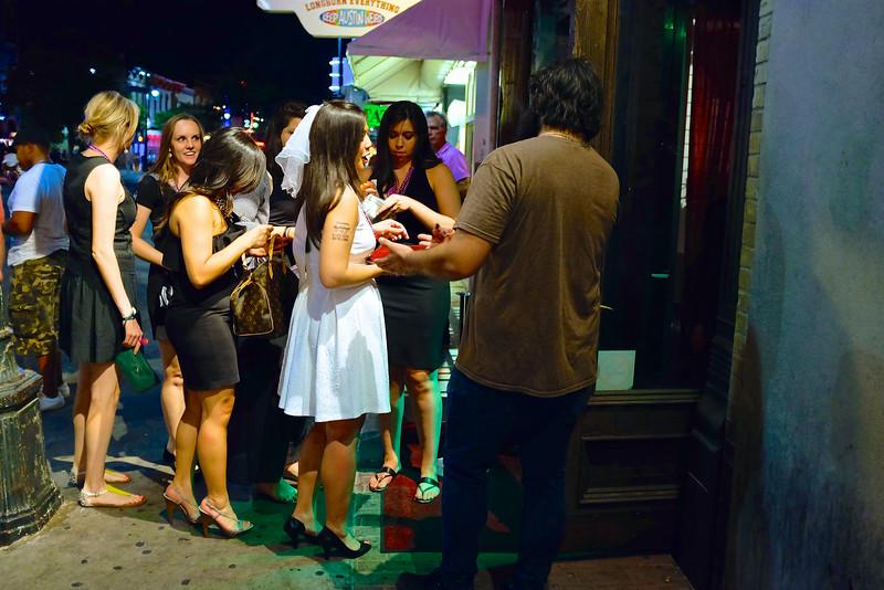 Bachelorette Party, 6th Street - Austin, Texas