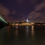 Blackfriars Station Terrace and St. Pauls